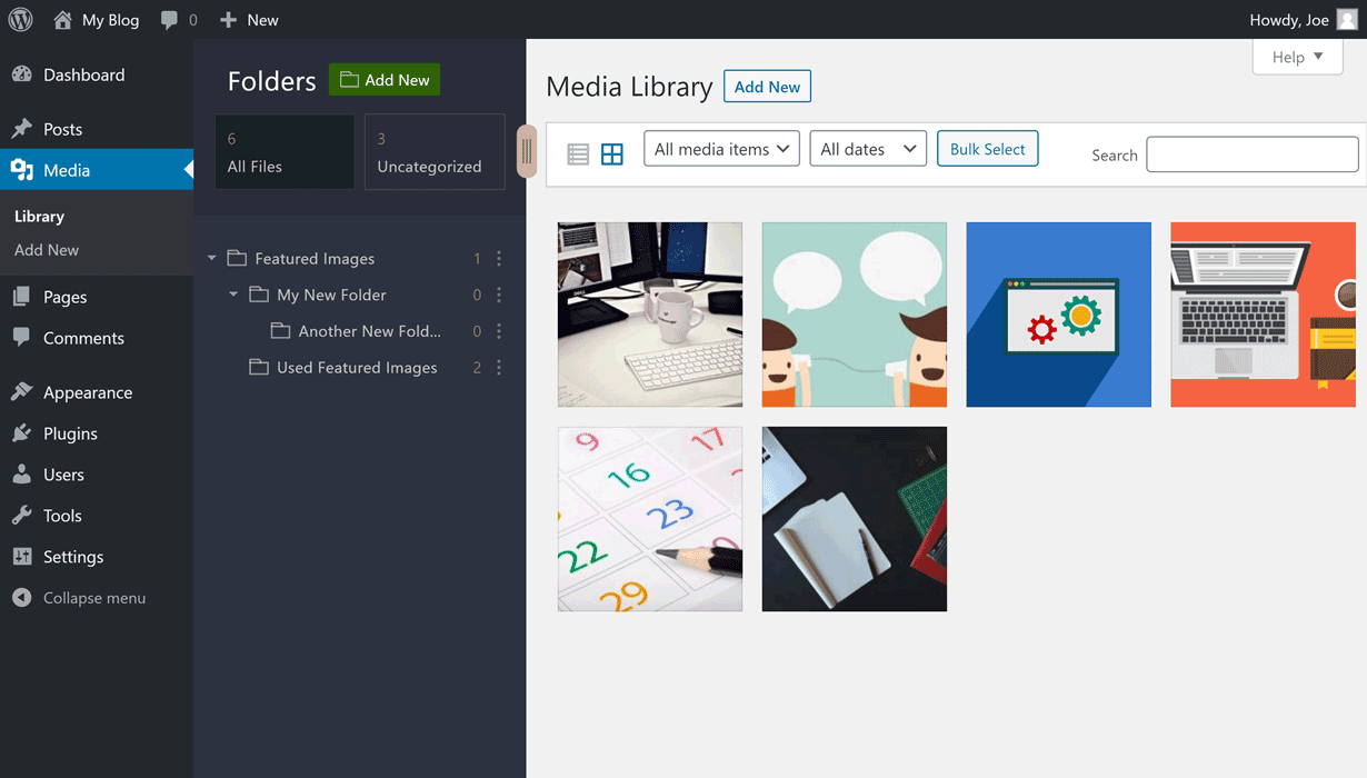 Mediabay Review – Folders For The WordPress Media Library