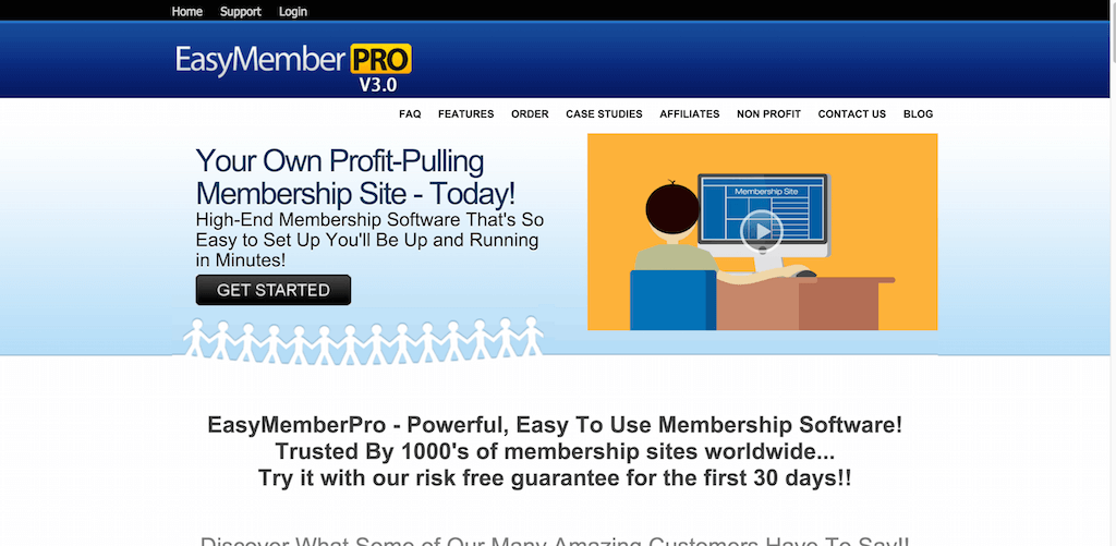 Membership Site Software Easy Member Pro