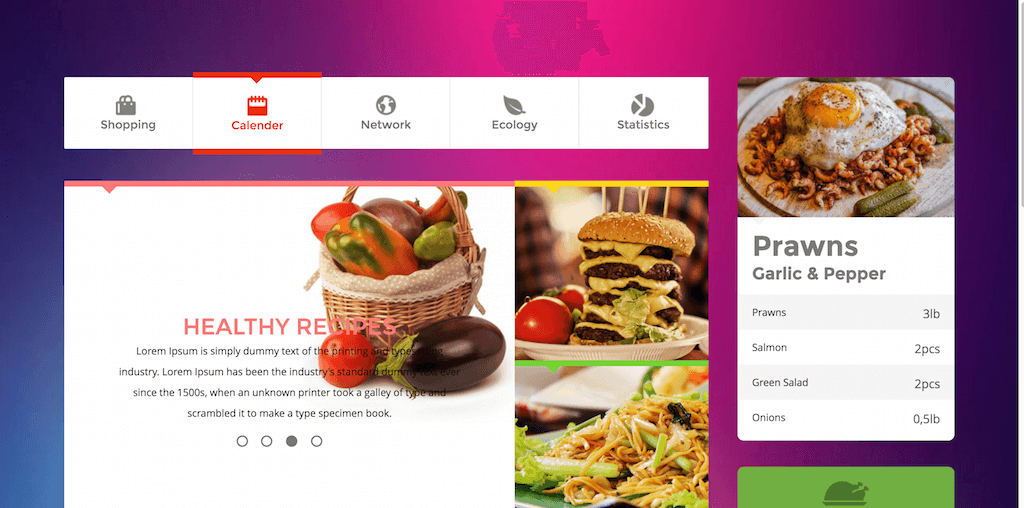 Metro Foods UI Kit