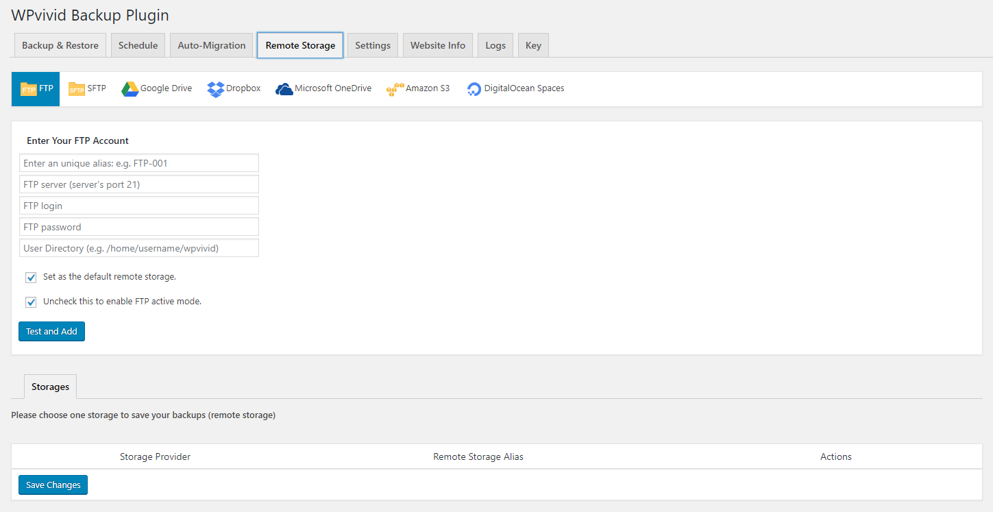 Migrate and Backup your WordPress content using this plugin!