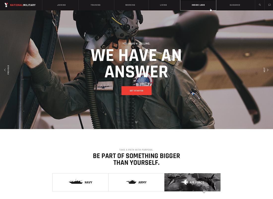Militarology - Military Service WordPress Theme