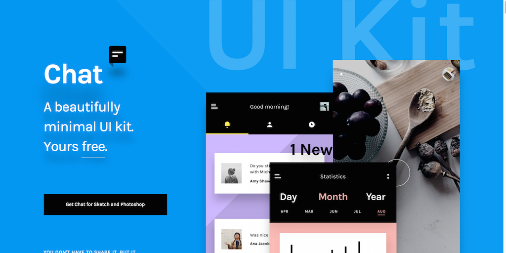 Minimal Chat UI Kit