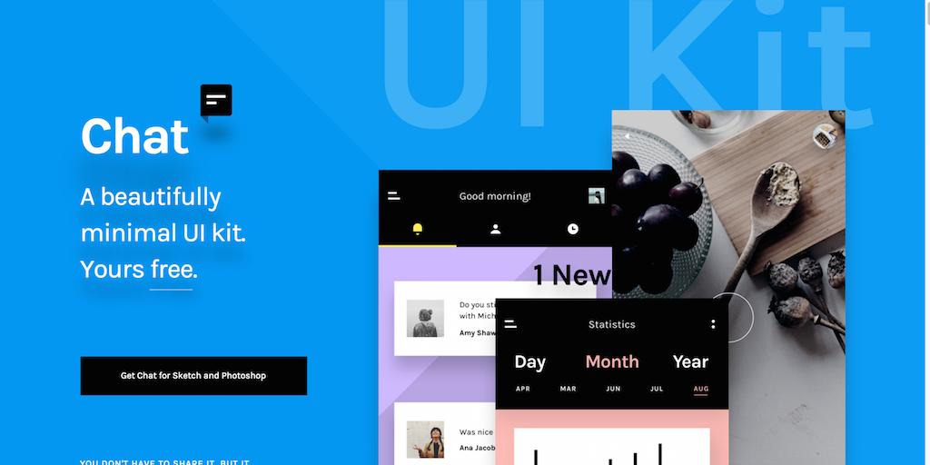 Minimal Chat UI Kit