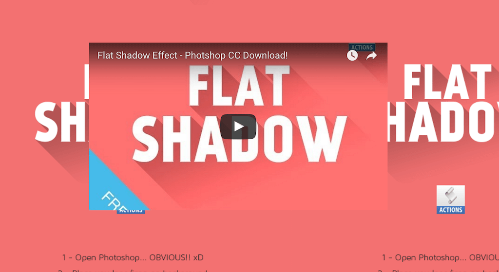 Mockup Flat Shadow