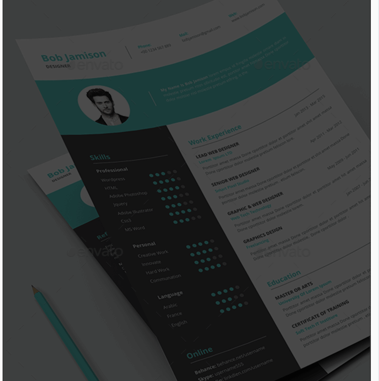Modern Resume GraphicRiver