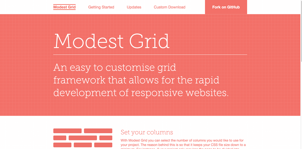 Modest Grid CSS Grid Framework
