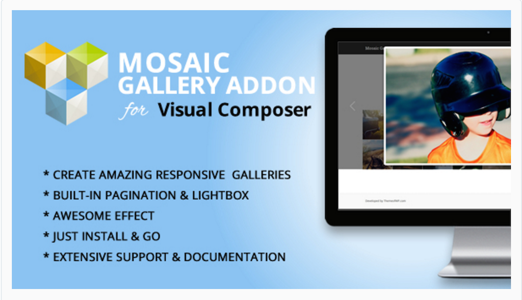 Mosaic Gallery Addon for WPBakery Page Builder WordPress