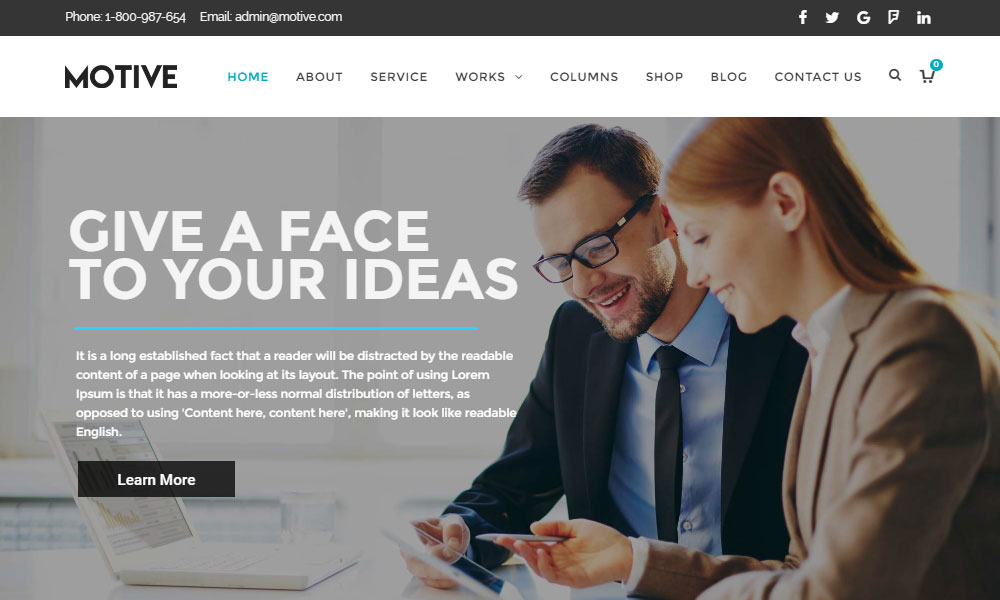 Motive Business Theme Review