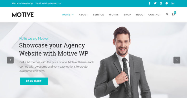 Motive Theme Review: New Multi-Purpose WordPress Theme