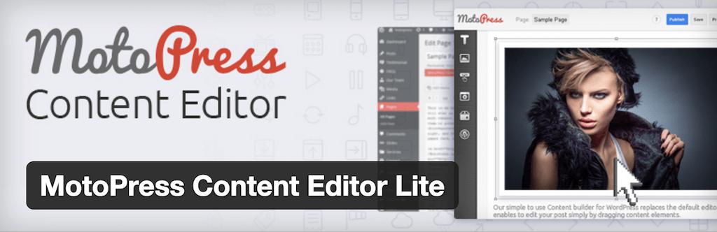 MotoPress Content Editor Lite — WordPress Plugins