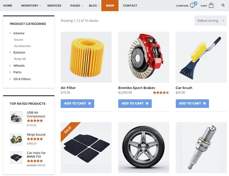 Motors Ecommerce