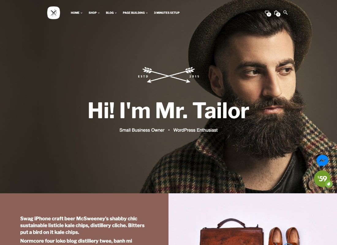 Mr. Tailor | Responsive WooCommerce Theme