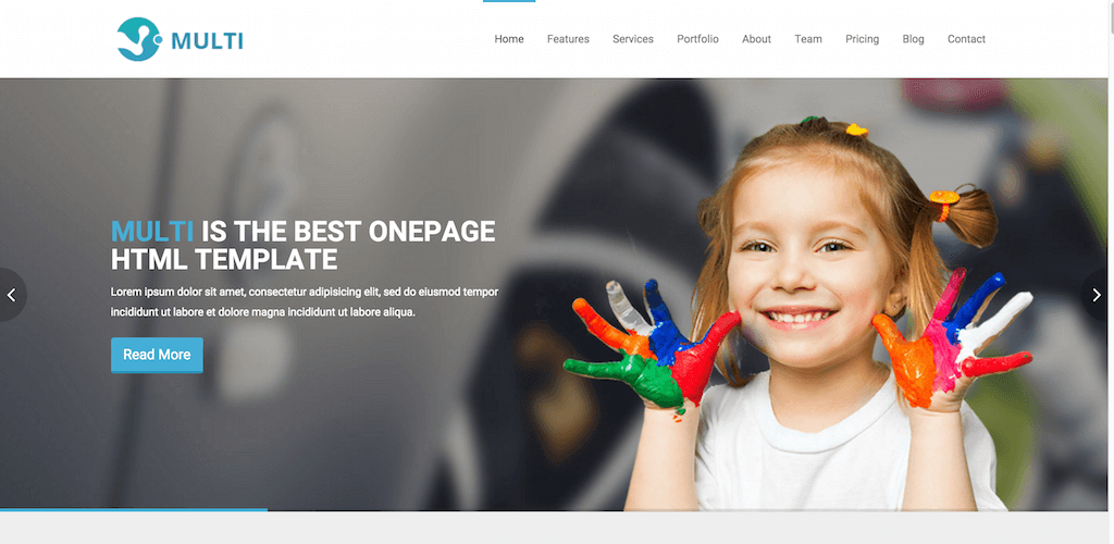 Multi bootstrap template