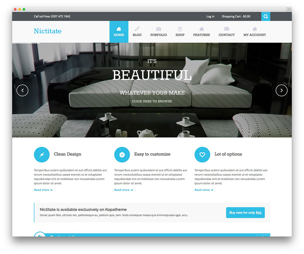 50 best free responsive wordpress themes 2016 colorlib. Black Bedroom Furniture Sets. Home Design Ideas