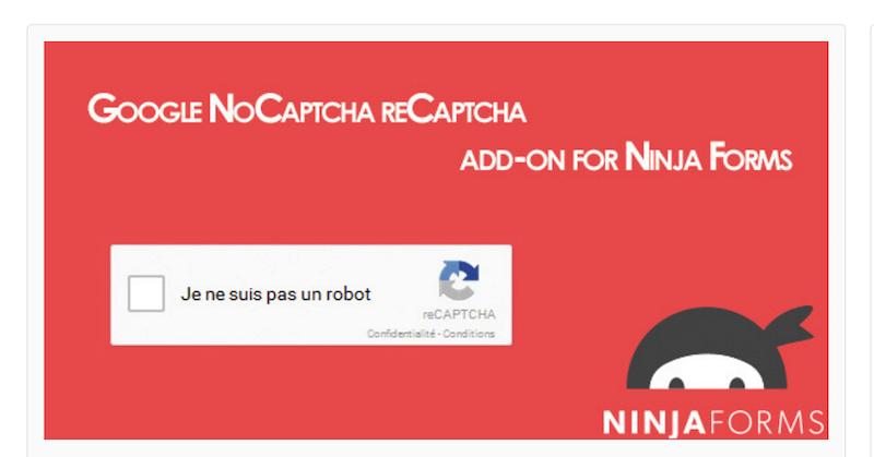 Ninja Forms Google reCaptcha