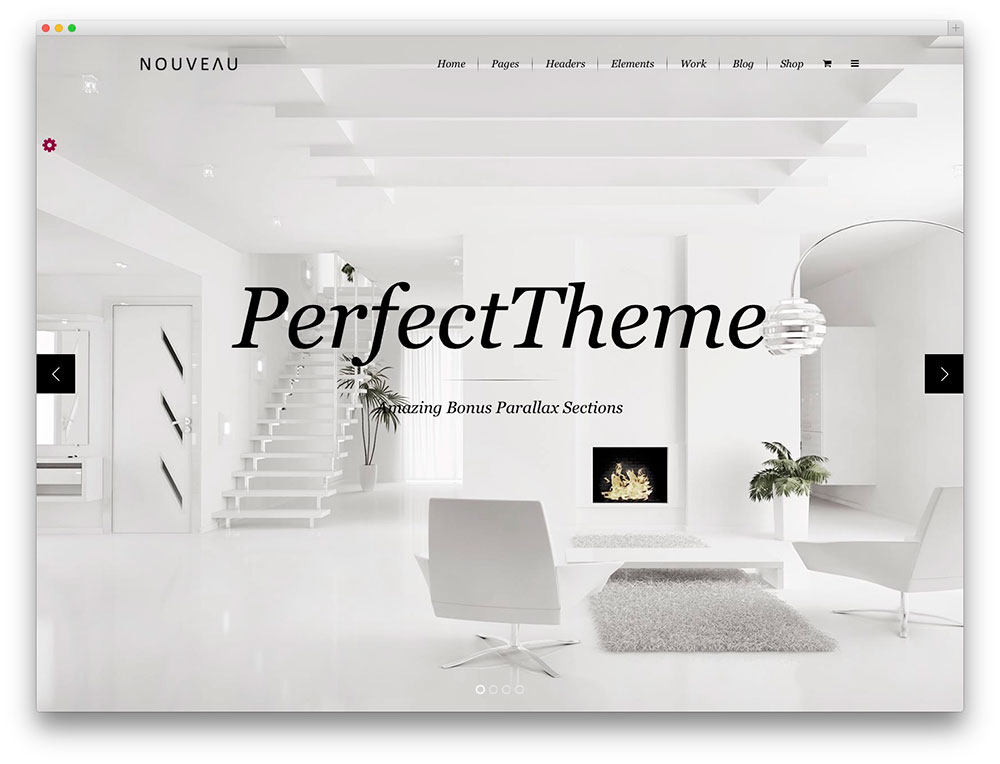 Nouveau - Architect theme