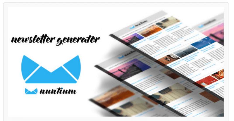 Nuntium Newsletter Generator