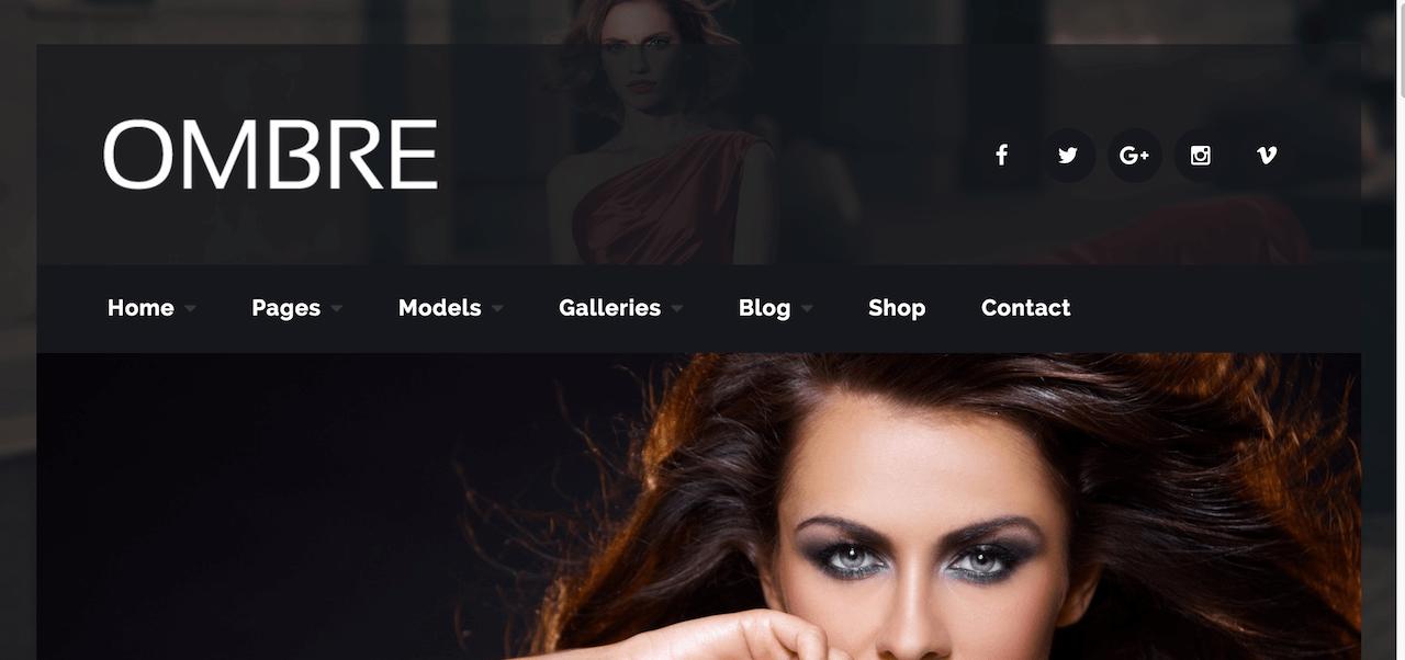 15+ Best Model Agency WordPress Themes 2019 - Colorlib