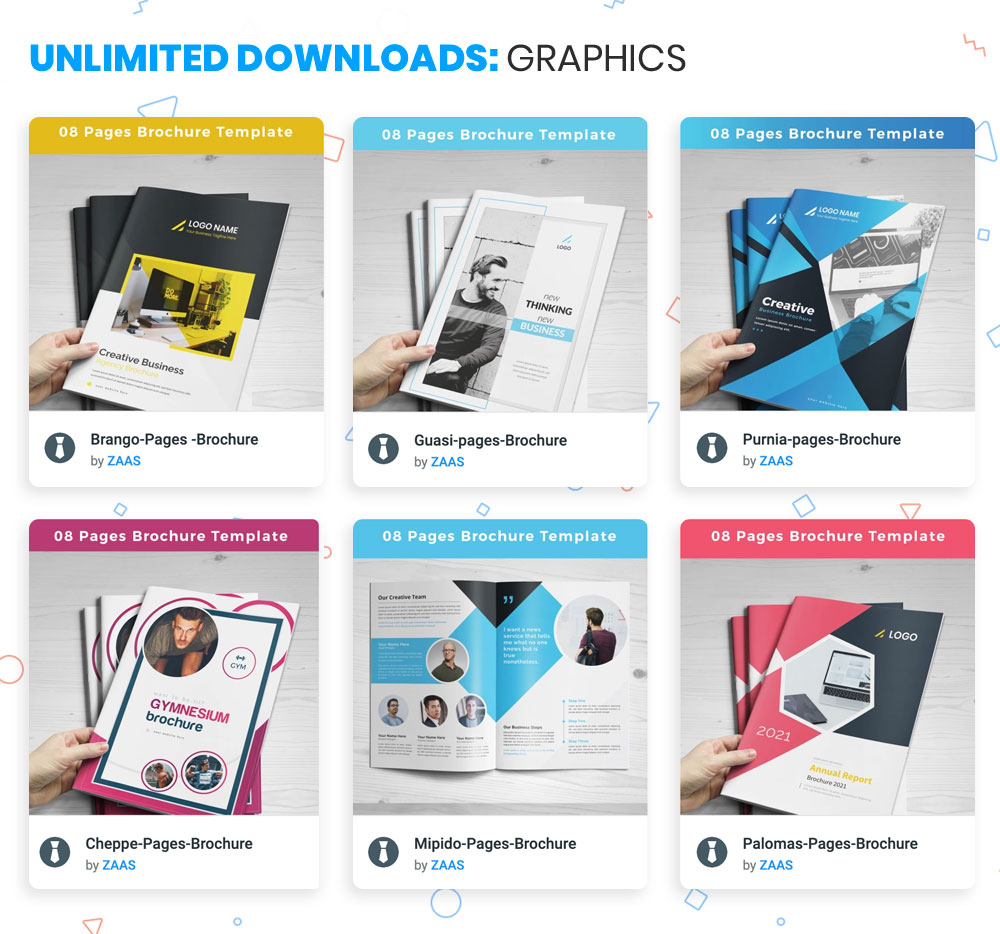 ONE subscription for graphic designers