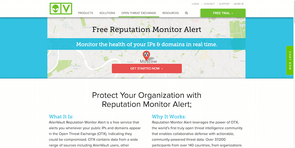 OTX IP Reputation Monitor