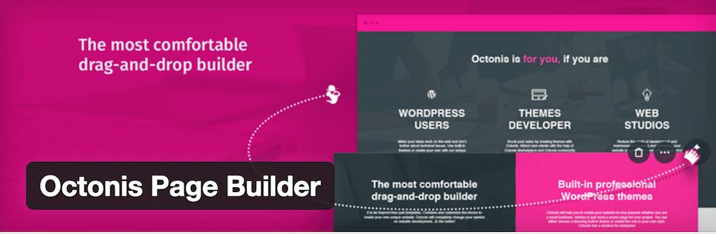 Octonis Page Builder — WordPress Plugins