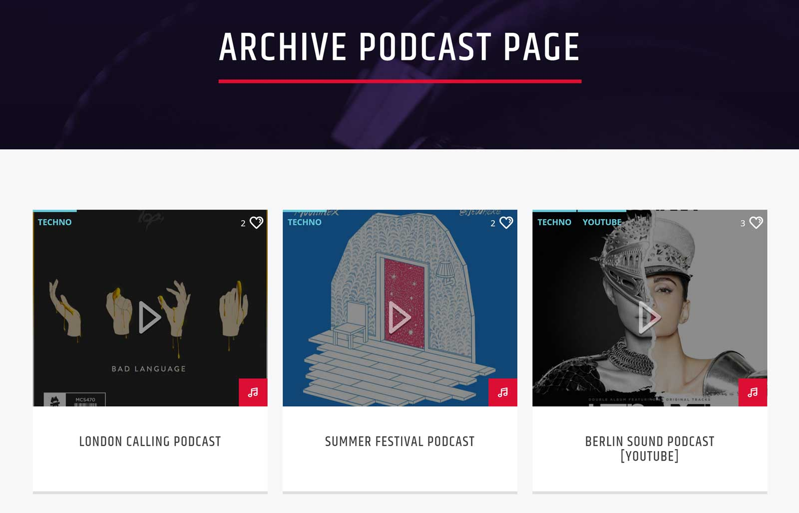 Onair2 Podcast Archive