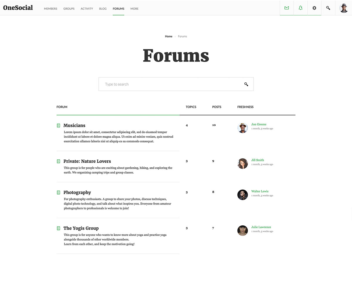 how to make a forum website for free