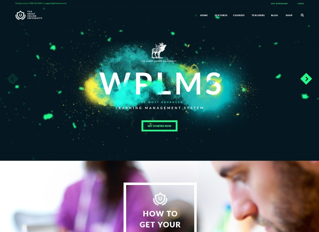 Online University | Education LMS School WordPress Theme
