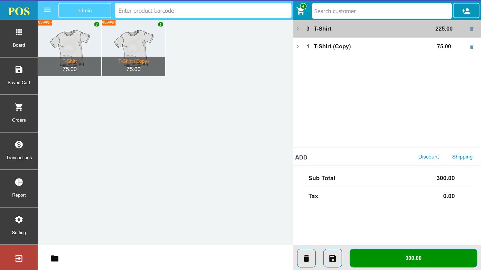 Openpos Review The UI