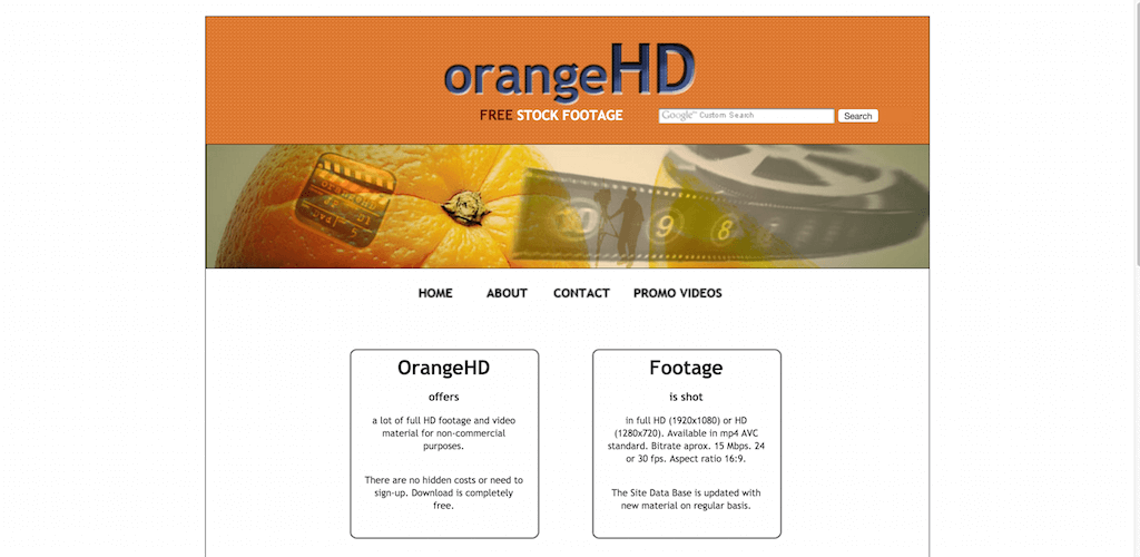 OrangeHD Free HD stock footage