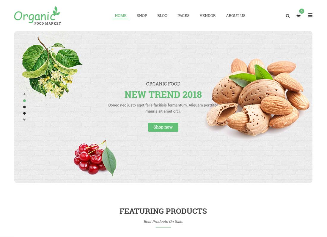Organico - Organic Farm and Healthy Food WooCommerce WordPress Theme
