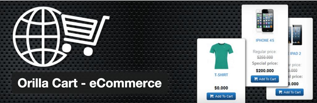 Orilla Cart eCommerce — WordPress Plugins