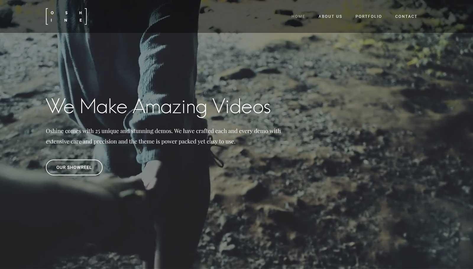 Oshine Video Agency Demo