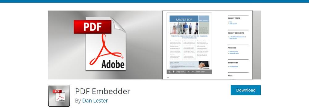 WordPress PDF Viewer Plugins - PDF Embedder