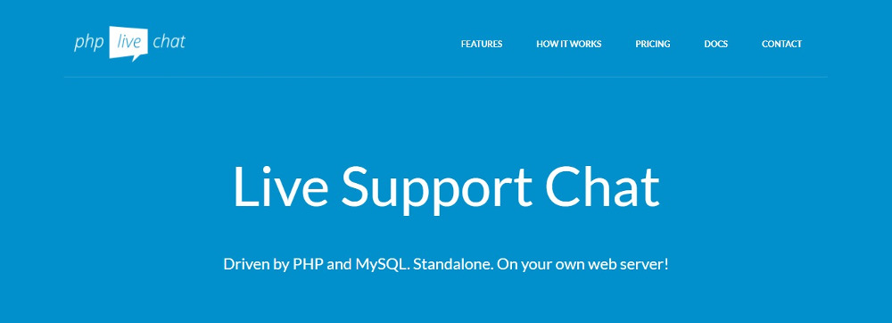 PHP Live Support Chat