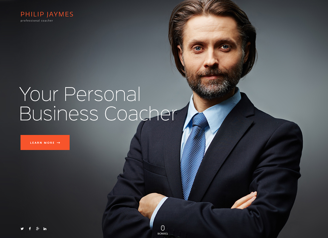 PJ | Life & Business Coaching WordPress Theme