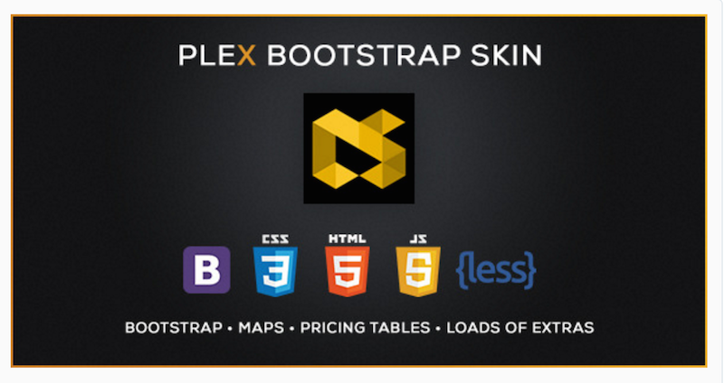 PLEX - Skin for Bootstrap 3