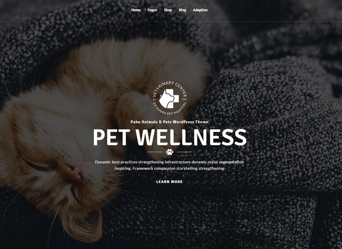 Pabu – Animals and Pets WordPress Theme