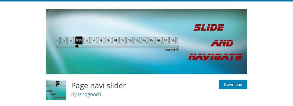 Page-Navi Slider