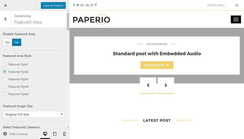 Paperio Customizer 01