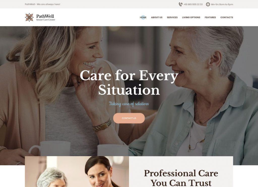 , 10 Best Nursing and Senior Care WordPress themes to Keep Senior People Safe During Lockdown, Rojak WP