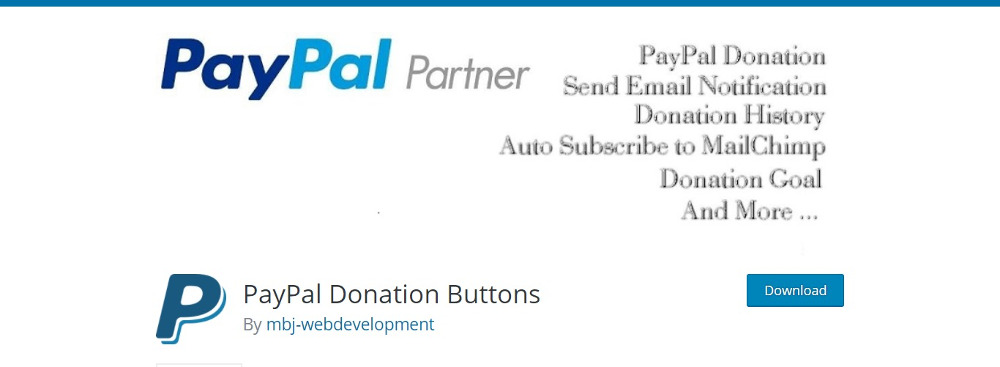 PayPal Donations Button
