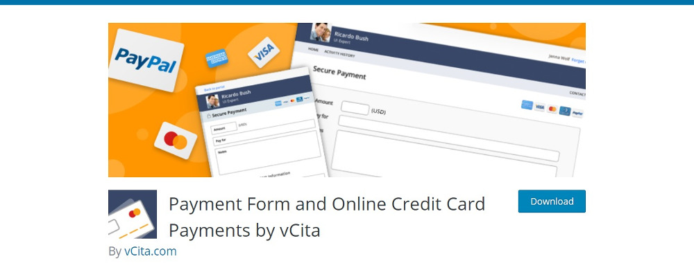 Payment Form and Online Credit Card Payments