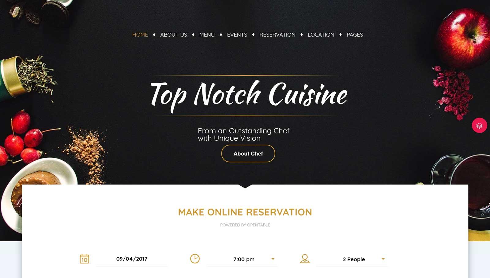Restaurant Demo