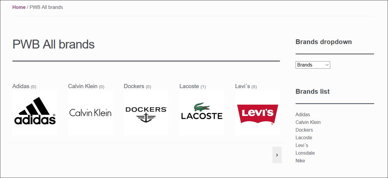 Functional WooCommerce Brands Plugins
