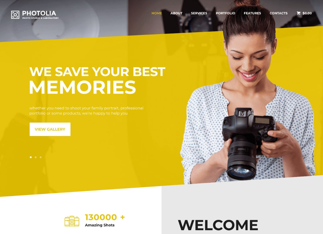Photolia | Photo Company & Supply Store WordPress Theme