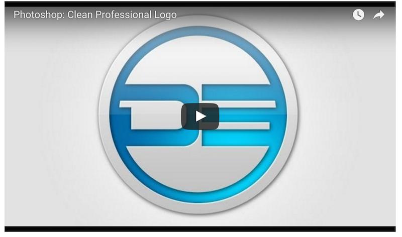 Photoshop- Clean Professional Logo