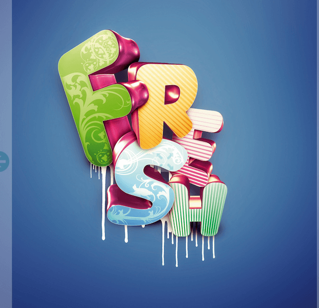 Photoshop tutorial- Master 3D type effects