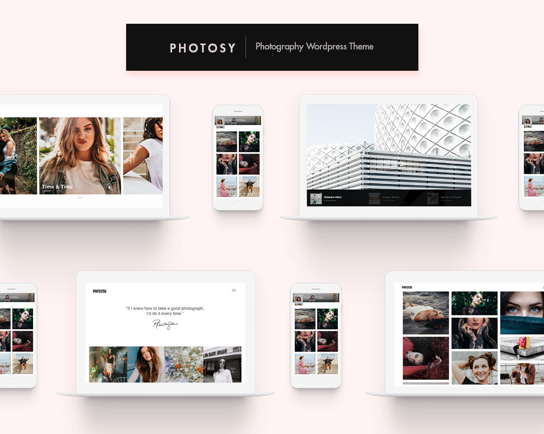 photosy theme wordpress
