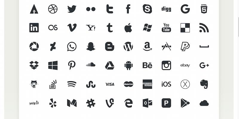 Picons - Social Media Vector Icons